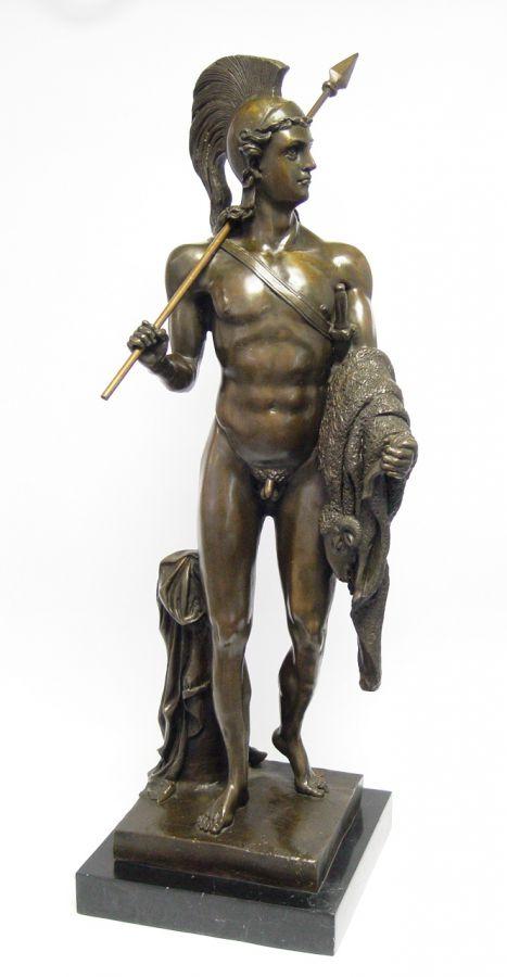 Bronzová socha Jásona