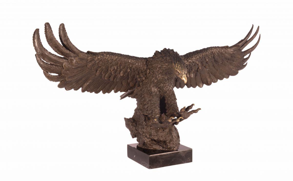 Luxusní velká bronzová socha orla