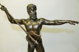 Bronzový Poseidón