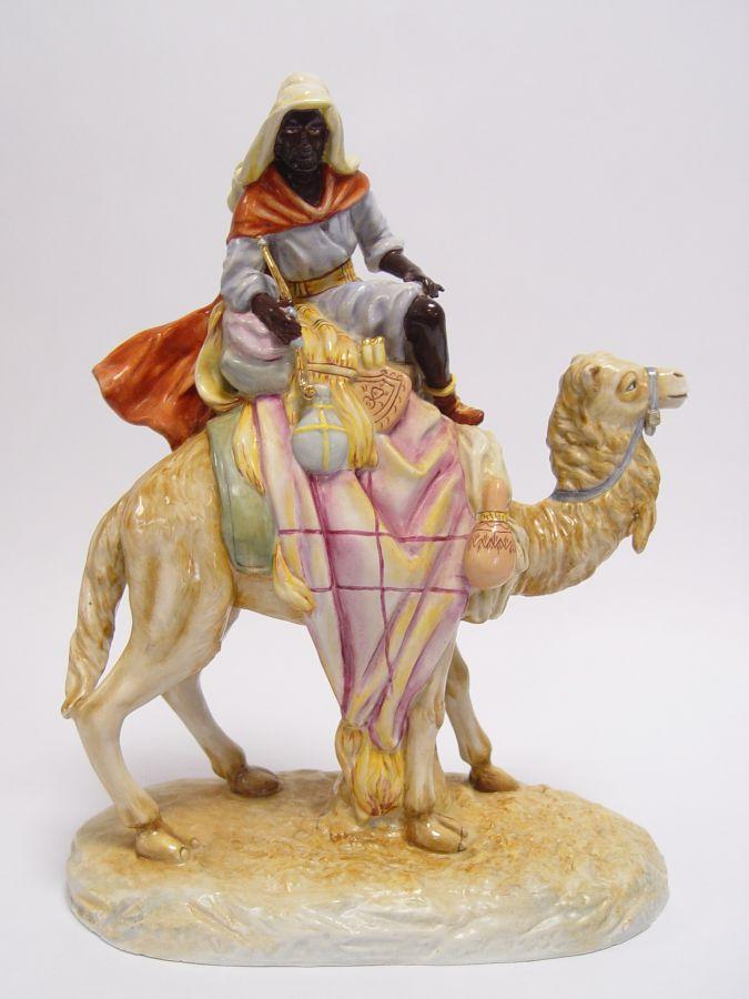 Porceláový velbloud