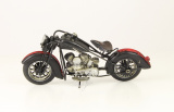 Plechový model retro motorky