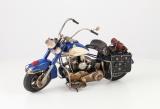 Plechový model - Motorka