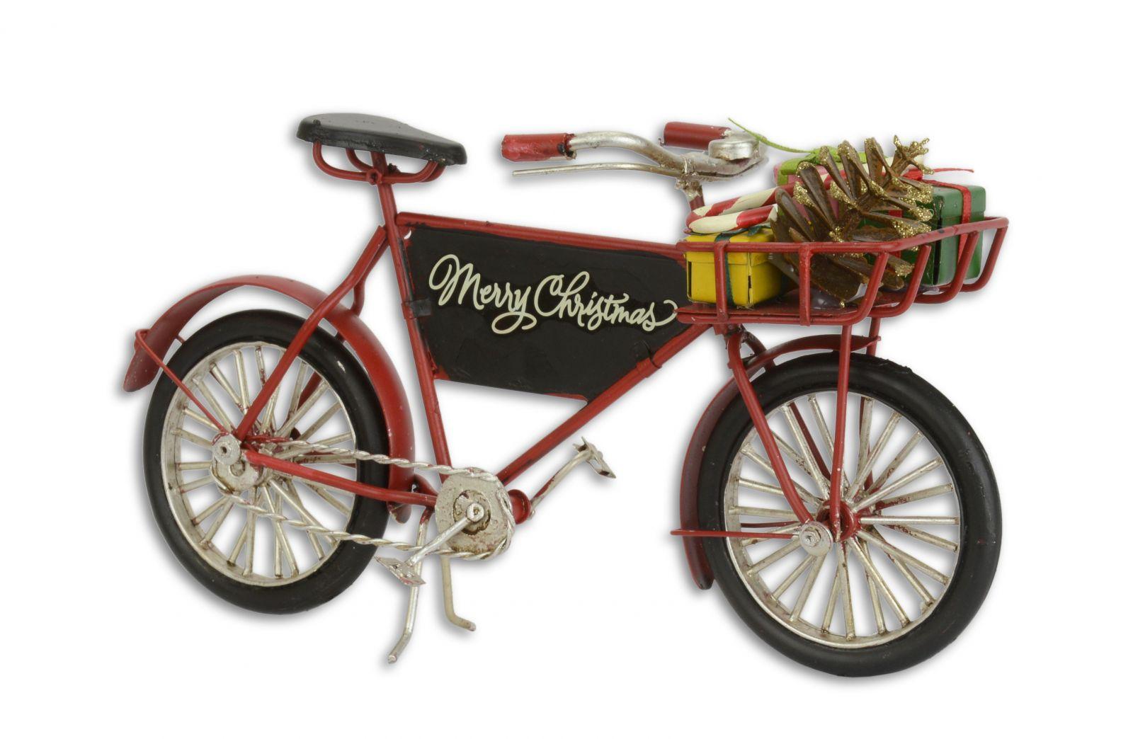 Kovová model vánoční kolo