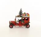 Model - Retro vánoční auto