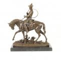 Louis XV na koni BrokInCZ