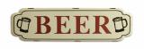 Plechová závěsná cedule - BEER