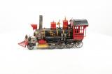 Kovový model lokomotiva