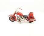 Kovový retro model malé motorky