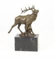 Bronzová socha -RUDÝ JELEN