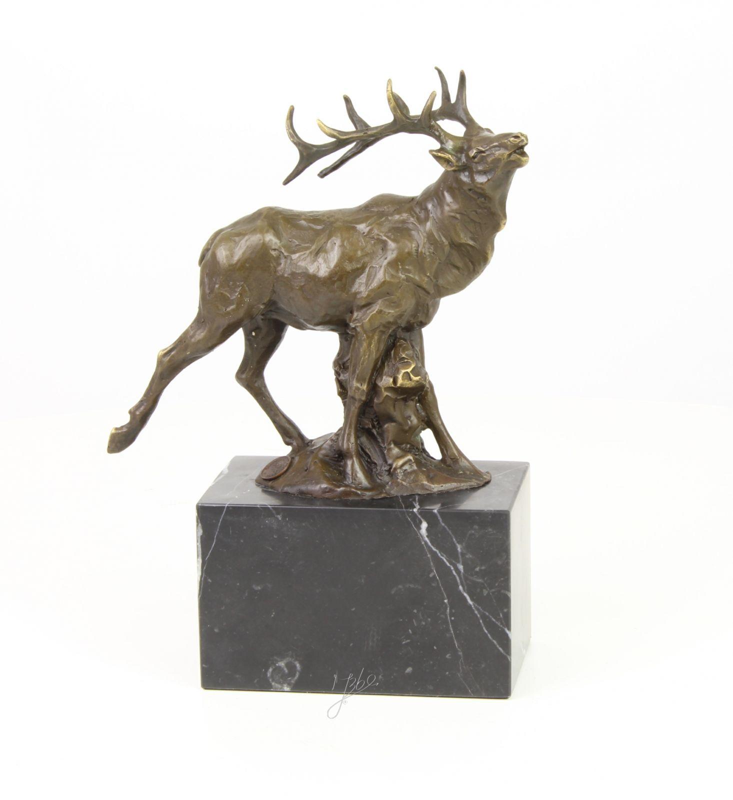 Rudý jelen z bronzu. BrokInCZ