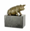 Bronzová socha - prasátko