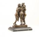 Tři Grácie z bronzy