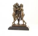 Bronzová socha 3 Grácie