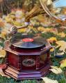 Gramofon replika vintage design