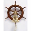 Námořní lodní kormidlo volant se zvonkem