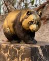 Bronzová socha - PANDA 2