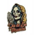 Plechová závěsná cedule - Den mrtvých (svátek) - Dia de los muertos
