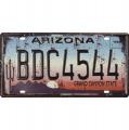 Plechová závěsná cedule - SPZ - Arizona