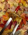 Meč na stěnu v luxusním provedení