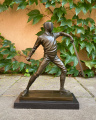 Bronzová socha soška Šermíř sport