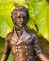 Soška Ludwig van Beethoven z bronzu