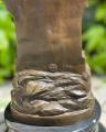Velká bronzová soška římská bohyně Minerva