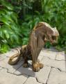 Velká socha Jaguára z bronzu MODERN ART